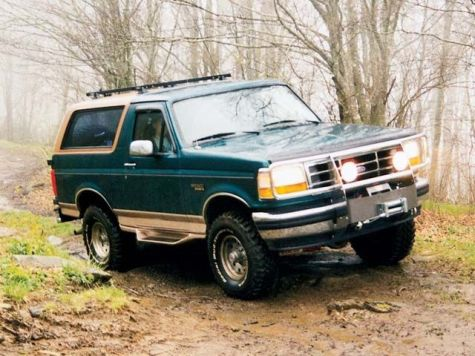 129_0108_02z+1996_Ford_Bronco+Front_Passenger_Side_View